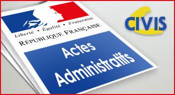 Actes Administratifs